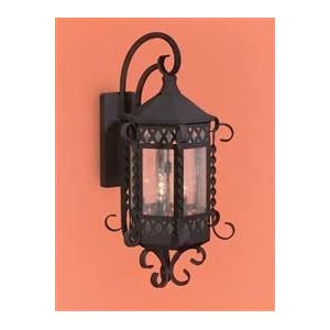 Click to read our review of Antique Outdoor Lights: Artistic 8261 Malibu 2 Light Wall Lantern