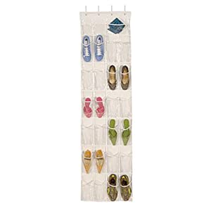 Click to buy Over the Door Shoe Organizer from Amazon!