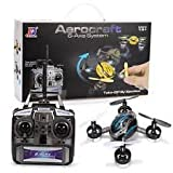 2.4G 4 CHANNEL 6 AXIS REMOTE CONTROL RC QUADCOPTER DRONE AEROCRAFT FLYING TOY