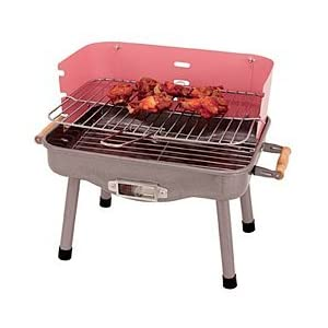 Pink mini barbecue