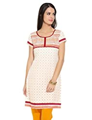 Lovely Lady Ladies Blend Straight Kurta - B00MMEODDC