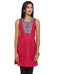 Lovely Lady Ladies Cotton Straight Kurta - B00MMERGCW