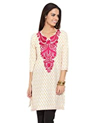 Lovely Lady Ladies Blend Straight Kurta - B00MMEJABW