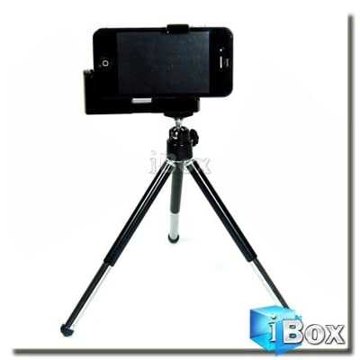 417XGbKxcSL. SS400  Mini Adjustable Tripod and Camera Holder by iBox