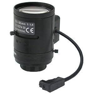 【クリックで詳細表示】コロナ電業 ALIVIO オートアイリスバリフォーカルレンズ(f=5~50mm/F1.4) 13VG550AS2: ホーム&キッチン