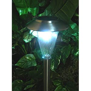 Click to buy LED Outdoor Lighting: Homebrite Solar Path Lights from Amazon!