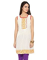 Lovely Lady Ladies Blend Straight Kurta - B00MMEMP3W