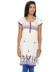 Lovely Lady Ladies Blend Straight Kurta - B00MMEV09W