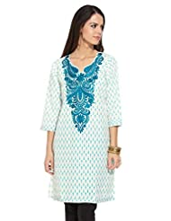 Lovely Lady Ladies Blend Straight Kurta - B00MMEIW4S