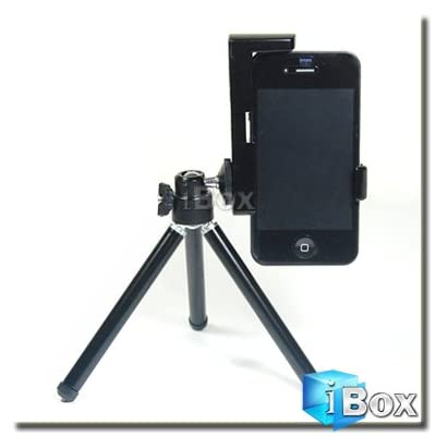 41IgXh8azXL. SS400  Mini Adjustable Tripod and Camera Holder by iBox