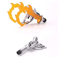 Spark Blaster & Double Hook for MPM-4/LT02 Optimus Prime 用武器セット シルバーver.