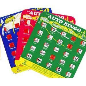Click to buy Travel Auto Roadtrip Bingo Vacation Game Family I SPY Set of 3 from Amazon!