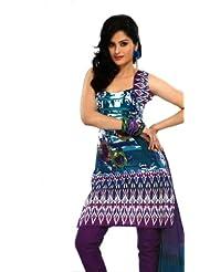Rajrang Unstitched Cotton Salwar Suits Women's Wear Dress Material