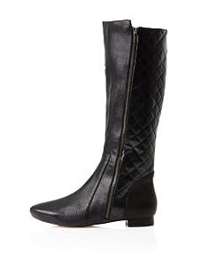 Farylrobin Women's Larkin Knee-High Boot (Black)