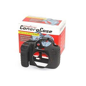【クリックで詳細表示】Amazon.co.jp|DISCOVERED イージーカバー Canon EOS 5D Mark2 用 液晶保護フィルム &スクリーンプロテクター付 ブラック 5D2-BL|カメラ・ビデオ通販