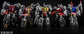 Iron Factory Ashura Knights IF-EX06to10 5�̃Z�b�g