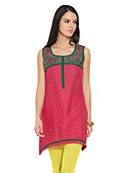 Lovely Lady Ladies Blend Straight Kurta - B00MMENL94