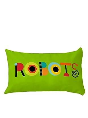 LITTLE W Cojín ROBOTS (Multicolor)