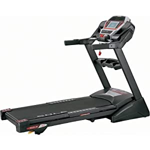 Sole F63 Treadmill with Easy Assist Folding Deck Design, Phenolic Shock-absorption System - (2011 Model)