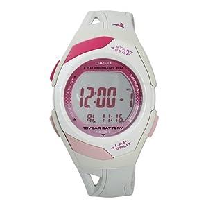 【クリックで詳細表示】[カシオ]CASIO 腕時計 PHYS フィズ ランナーウォッチ LAP MEMORY60 TOUGH BATTERY10 STR-300-7 ピンク[逆輸入]: 腕時計通販