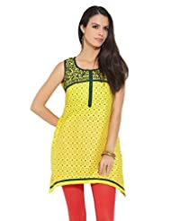 Lovely Lady Ladies Blend Straight Kurta - B00MMENQLW