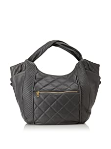 Christopher Kon Women's Adele Large Quilted Tote (Grey)