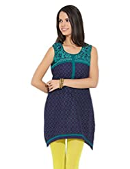 Lovely Lady Ladies Blend Straight Kurta - B00MMENVCQ