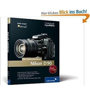 eBook Cover für  Nikon D90 Das Kamerahandbuch Galileo Design