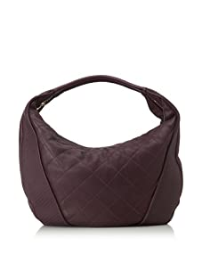Christopher Kon Women's Adele Large Quilted Hobo (Purple)