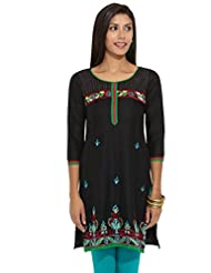 Lovely Lady Ladies Cotton Straight Kurta - B00MMEQVAA