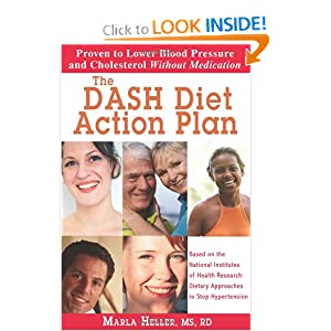 Click to buy Healthy Blood Pressure: The DASH Diet Action Plan: Based on the National Institutes of Health Research: Dietary Approaches to Stop Hypertension from Amazon!