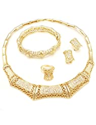 The Princess Golden Jewellery Set - B00MOLJ8EW