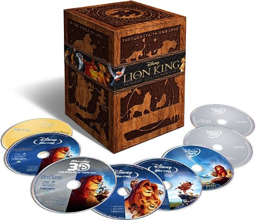 The Lion King Trilogy Set