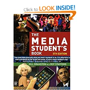 Image: Cover of The Media Student's Book