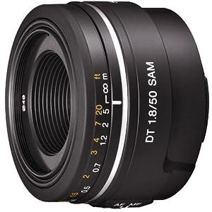 【クリックで詳細表示】Amazon.co.jp|SONY 単焦点レンズ DT 50mm F1.8 SAM APS-C対応|カメラ・ビデオ通販