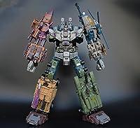JINBAO 社 ROBOT 豹 変形 合体 5体セット 拡大版 Warbotron WB01