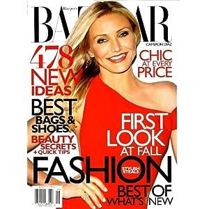 【クリックでお店のこの商品のページへ】Harper's Bazaar [US] August 2010 (単号) [雑誌]