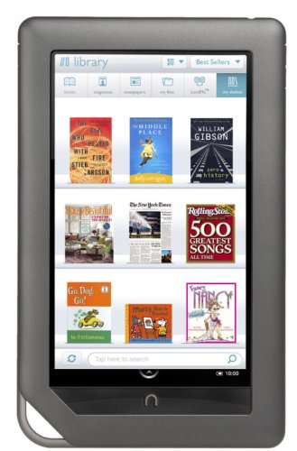 整備済製品 Barnes & Noble NOOK Color Wi-Fi eBook Reader / 電子書籍リーダー
