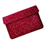 I-KitPit : PU Glitter Sparkling Leather Pouch Case For Samsung Galaxy Note 8.0 (SHINY PINK)