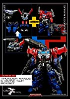 MAKETOYS Thunder Manus + Divine Suit Set MTCD03