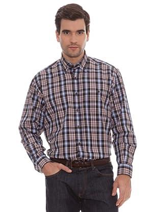 Marengo Camisa Cuadros (Marrón)