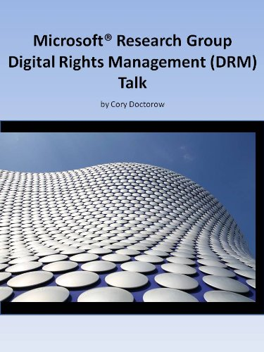 Microsoft Research Digital Rights Management (DRM) Talk cover
