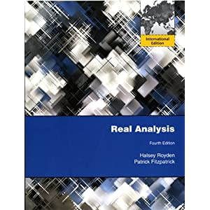 Real analysis (Royden)