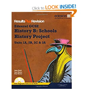 Image: Cover of Results Plus Revision: GCSE History Spec B Student Book Plus CD