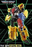 TFC Toys Trinity Force - Raging Bull TF-01