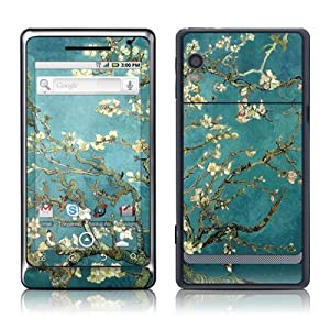 Van Gogh - Blossoming Almond Tree Design Protective Skin Decal Sticker for Motorola Droid 2 Cell Phone