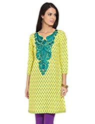 Lovely Lady Ladies Blend Straight Kurta - B00MMEII42