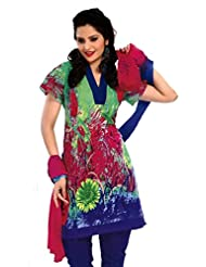 Rajrang Unstitched Cotton Dress Materials Women's Wear Salwar Suit