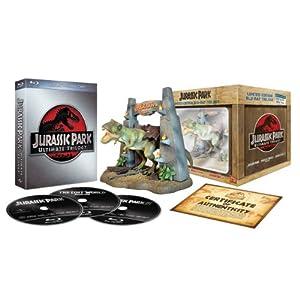 【Amazon.co.jp限定】ジュラシック・パーク アルティメット・トリロジー T-REXフィギュア付きコレクターズセット [Blu-ray] (Amazon)