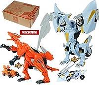 元気救助隊 ロボセイバーズ 2体セット�D 烈暴竜(Tyranno)&幻翼竜(Phantom)